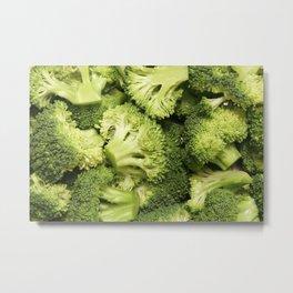 Broccoli for everyone! Metal Print