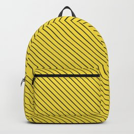 Buttercup and Black Stripe Backpack