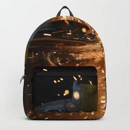 Grinder at work Backpack