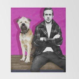 Ryan Gosling and friend Throw Blanket