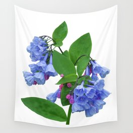 Spring Bluebells Wall Tapestry