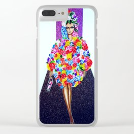 Romance On The Runway - Full Length Clear iPhone Case