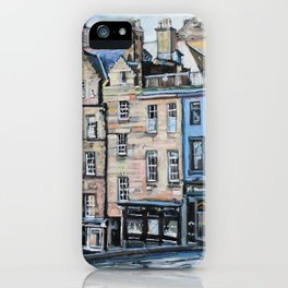 Old Town Edinburgh iPhone Case
