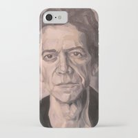 lou reed iPhone & iPod Cases featuring Lou by Charles Ellison