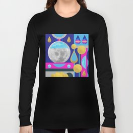 Abstractions No. 3: Moon Long Sleeve T-shirt