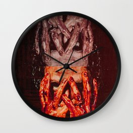 We Are The Walking Dead Wall Clock