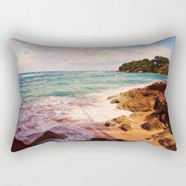 Playa Caliente Rectangular Pillow