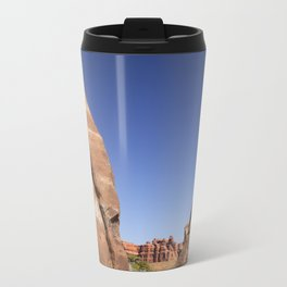 Mountain Clearing Metal Travel Mug