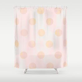 Rose Gold Glitz Shower Curtain