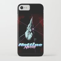hotline miami iPhone & iPod Cases featuring Hotline Miami by Lionel Hotz