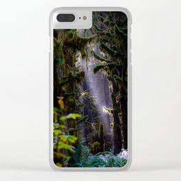 Sunbeams in the Hoh Clear iPhone Case