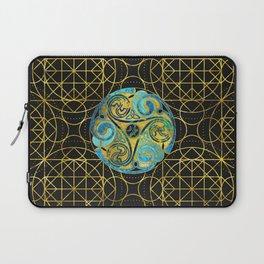 Decorative Triquetra Celtic Ornament Laptop Sleeve