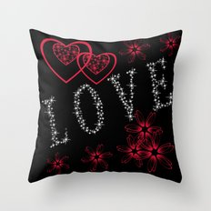 Love. Valentine's day. Throw Pillow