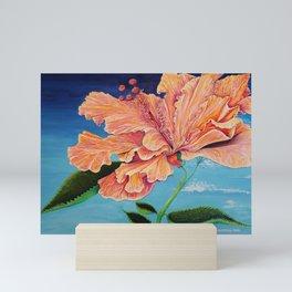 Heavenly Hibiscus Mini Art Print