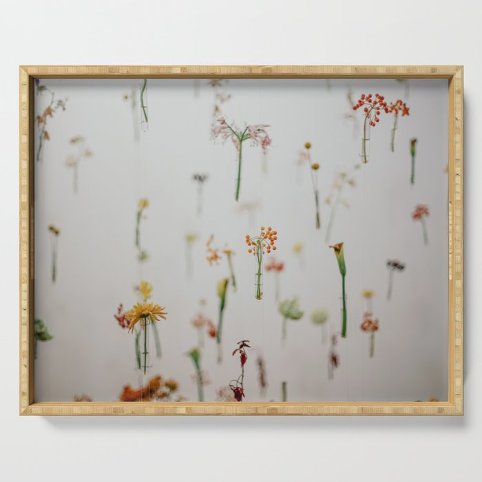Floral Fish Tank Serving Tray