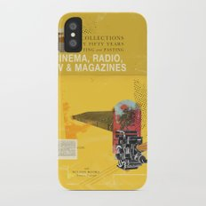 Cinema, Radio, TV and Magazines iPhone X Slim Case