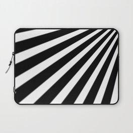 Black and White Stripes Laptop Sleeve