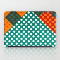 dots iPad Cases featuring Dots by SensualPatterns