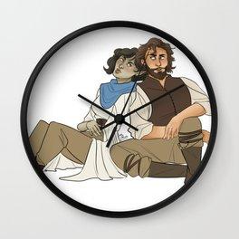 Elanil & Loic Wall Clock