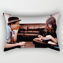 Nowhere Man and a Whiskey Girl Rectangular Pillow