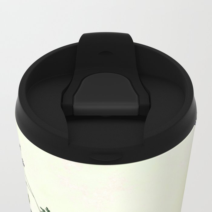 The wilderness continues. Metal Travel Mug