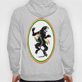 Black Panther Rastafarian Flag Hoody