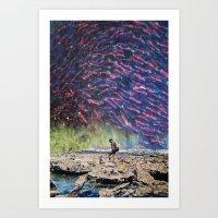 spawn Art Prints featuring Spawn by John Turck