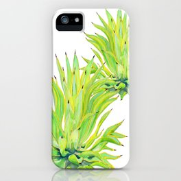 Sunlit Octopus Agave iPhone Case