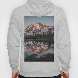 Cascade Sunset - Mt. Shuksan - Nature Photography Hoody