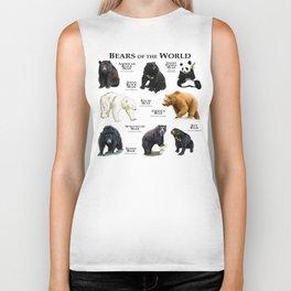 Bears of the World Biker Tank