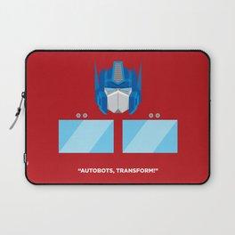 Optimus Prime Laptop Sleeve