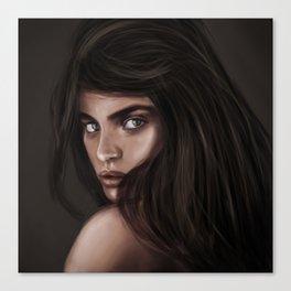 Sara Sampaio Canvas Print