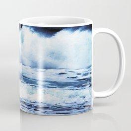 Wild Oregon Coast Waves Coffee Mug