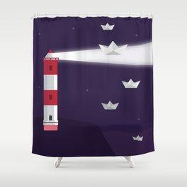 Reaching Enlightment Shower Curtain