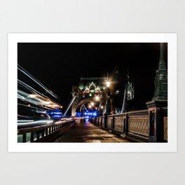 Tower Bridge - London - Great Britain - UK Art Print