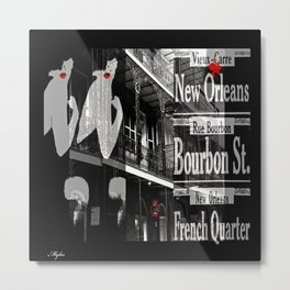 New Orleans and Marilyn Metal Print