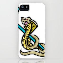 King Cobra Ice Hockey Sports Mascot iPhone Case