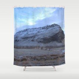 Snowy landscape 2 Shower Curtain