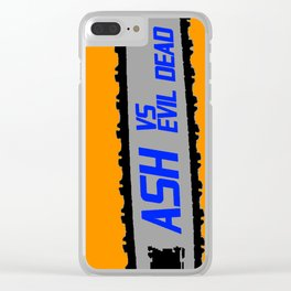 ASH VS EVIL DEAD I Clear iPhone Case