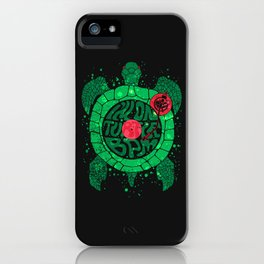 Turtle BPM iPhone Case