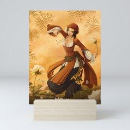 Lotus Dancer Mini Art Print