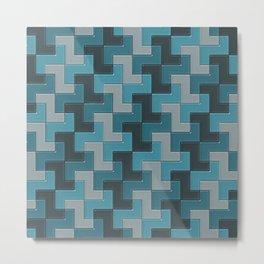 Geometrix LXXIII Metal Print