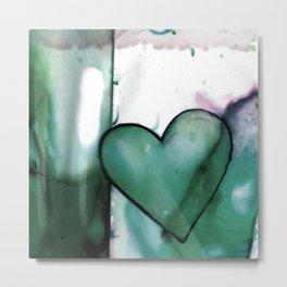 Heart Dreams 1L by Kathy Morton Stanion Metal Print