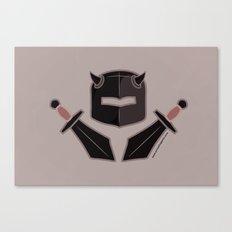 Exile From Ullathorpe - Helmet and Swords Dark Canvas Print