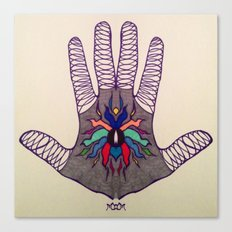 Hand Of Happiness  Canvas Print