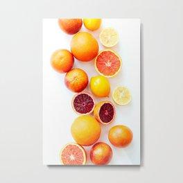Winter Citrus 2 Metal Print