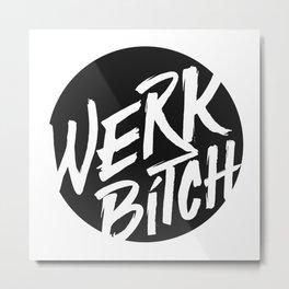 WERK Metal Print