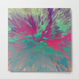 Colorful Extrusion Metal Print