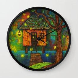 Little House on the Bayou  Wall Clock