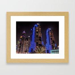 Grosvenor House in Dubai Framed Art Print